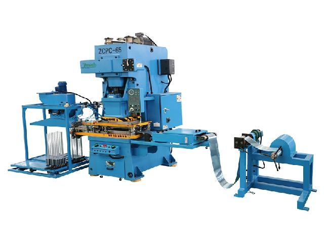 Zcpc series open fin punch automatic production line